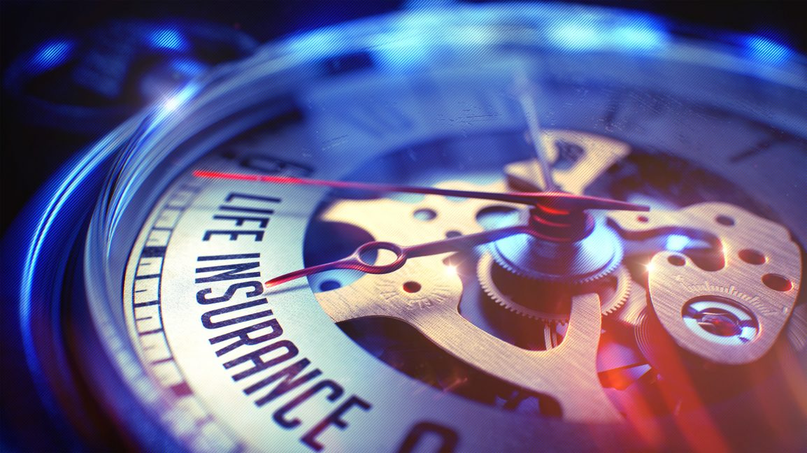 Pocket watch counts down on life insurance