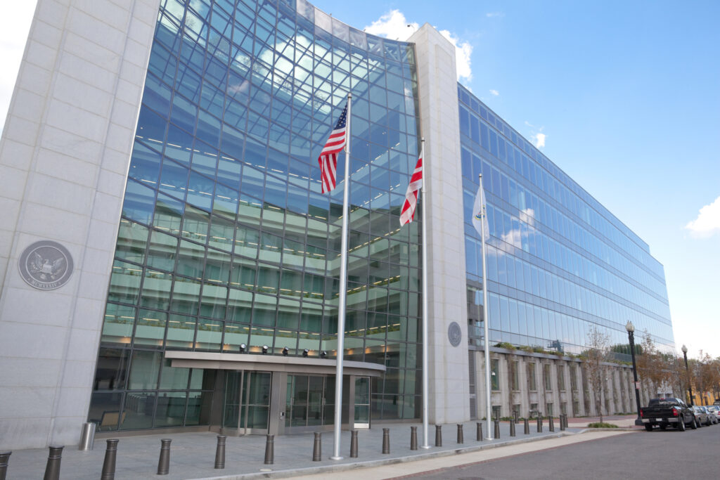 (Securities and Exchange Commission)SEC building front