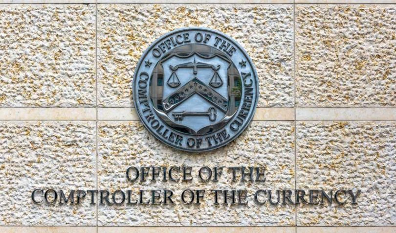 office of comptroller of the currency OCC logo