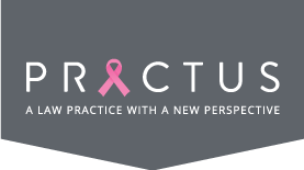 Practus Logo for breast cancer awareness month